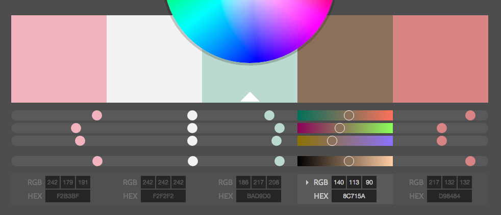 Adobe Color CC_Sakuraのキャプチャ画像