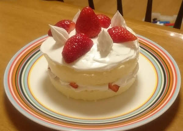 レンジでチンする赤ちゃん用ケーキ