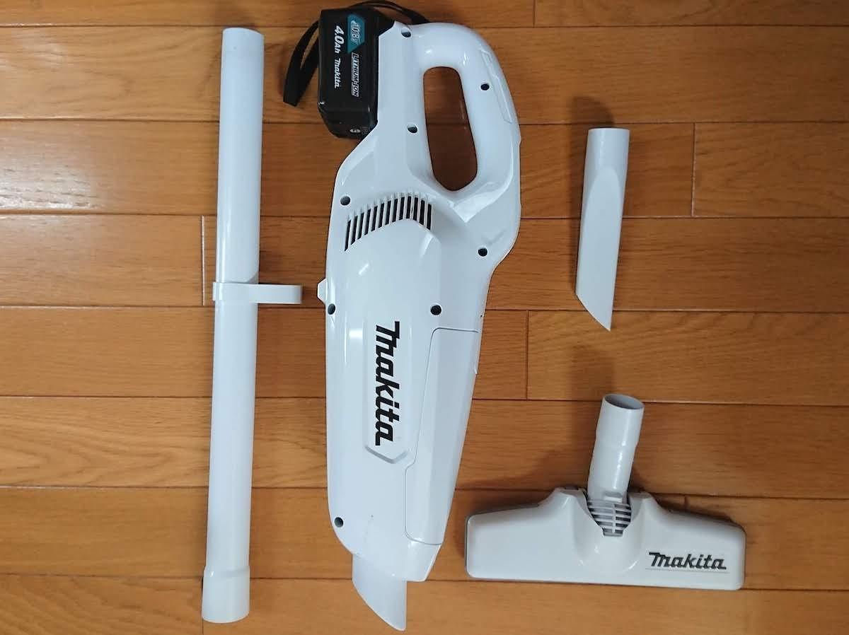 わが家のコードレス掃除機 マキタさん(CL107FDSHW)は最高の相棒