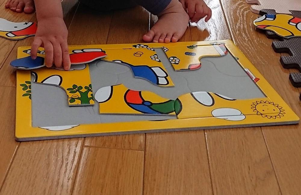 8ピースパズルで遊ぶ