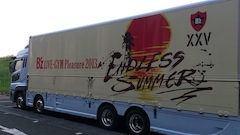B'z Endless Summer ツアートラック