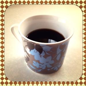 至福の1杯のコーヒー
